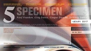 Bild von Schweizer Bücherbon Fr. 5.00