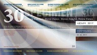 Bild von Schweizer Bücherbon Fr. 30.00