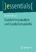 Bild von Kapitalismusanalyse und Kapitalismuskritik