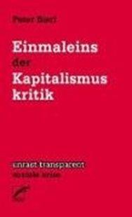 Bild von Einmaleins der Kapitalismuskritik