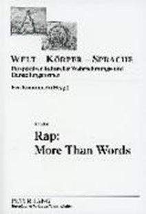 Bild von Rap: More Than Words
