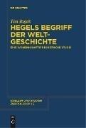 Bild von Hegels Begriff der Weltgeschichte