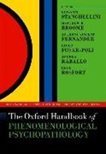 Bild von The Oxford Handbook of Phenomenological Psychopathology