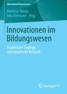 Bild von Rürup, Matthias (Hrsg.) : Innovationen im Bildungswesen