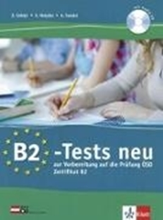 Bild von B2-Tests neu. Testbuch und Audio-CD