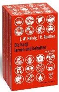 Bild von Die Kanji lernen und behalten Bände 1 bis 3. Neue Folge