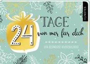 Bild von 24 Tage von mir für dich - ein ganz besonderer Adventskalender zum Ausfüllen und Verschenken