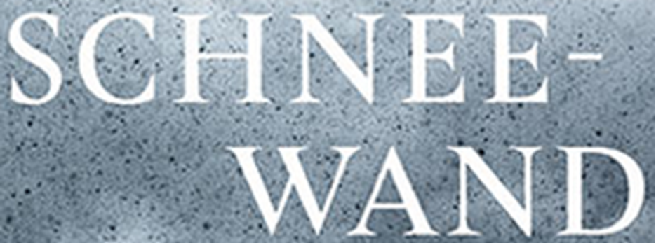 Buchtaufe im ONO am Mittwoch, 25. September 2019 um 20.00 Uhr ¦ Peter Weibel, Schneewand, Erzählung, Editon Bücherlese