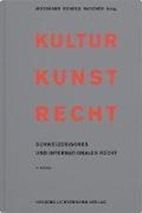 Bild von Mosimann, Peter (Hrsg. Koord.) : Kultur Kunst Recht