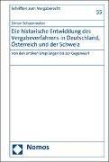 Bild von Die historische Entwicklung des Vergabeverfahrens in Deutschland, Österreich und der Schweiz