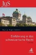 Bild von Einführung in das schweizerische Recht