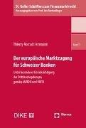 Bild von Der europäische Marktzugang für Schweizer Banken