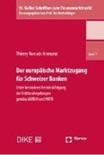 Bild von Ammann, Thierry Romain: Der europäische Marktzugang für Schweizer Banken