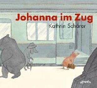 Bild von Johanna im Zug
