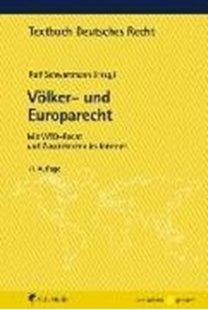 Bild von Schwartmann, Rolf (Hrsg.): Völker- und Europarecht