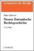 Bild von Neuere Europäische Rechtsgeschichte
