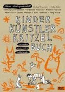 Bild von Kinder Künstler Kritzelbuch