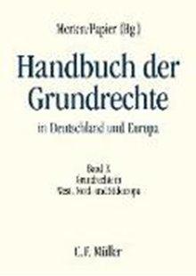 Bild von Arestis, Giorgos (Beitr.) : Handbuch der Grundrechte in Deutschland und Europa