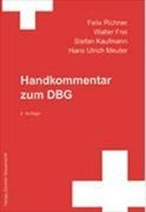 Bild von Richner, F.: Handkommentar zum DBG