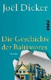 Bild von Dicker, Joël : Die Geschichte der Baltimores