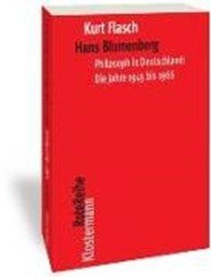 Bild von Flasch, Kurt: Hans Blumenberg