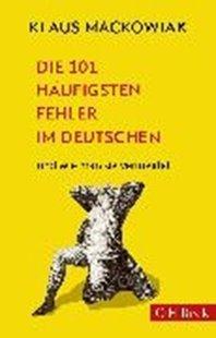 Bild von Die 101 häufigsten Fehler im Deutschen