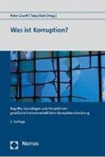 Bild von Graeff, Peter (Hrsg.) : Was ist Korruption?