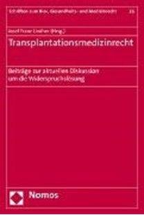 Bild von Transplantationsmedizinrecht
