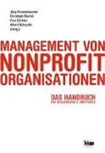 Bild von Krummenacher, Jürg (Hrsg.) : Management von Nonprofit-Organisationen
