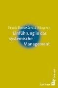 Bild von Einführung in das systemische Management