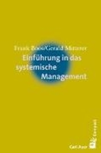 Bild von Boos, Frank : Einführung in das systemische Management