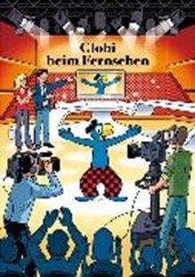 Bild von Globi beim Fernsehen
