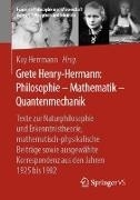 Bild von Grete Henry-Hermann: Philosophie - Mathematik - Quantenmechanik