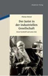 Bild von Der Jurist in der industriellen Gesellschaft