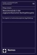 Bild von Gisbertz, Philipp: Menschenwürde in der angloamerikanischen Rechtsphilosophie