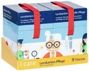 Bild von I care Lernkarten Pflege - Set (im Schuber)