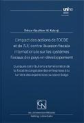 Bild von L'impact des actions de l'OCDE et de l'UE contre l'évasion fiscale internationale sur les systèmes fiscaux des pays en développement