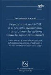 Bild von Mitongo Kalonji, Trésor-Gauthier: L'impact des actions de l'OCDE et de l'UE contre l'évasion fiscale internationale sur les systèmes fiscaux des pays en développement