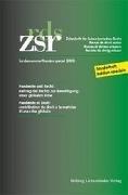 Bild von Pichonnaz, Pascal : ZSR Sondernummer - Pandémie et Droit / Pandemie und Recht