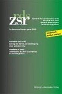 Bild von ZSR Sondernummer - Pandémie et Droit / Pandemie und Recht