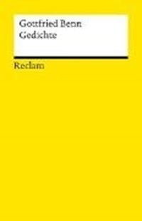 Bild von Benn, Gottfried : Gedichte