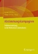 Bild von Scholten, Heike (Hrsg.) : Abstimmungskampagnen