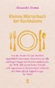 Bild von Kleines Wörterbuch der Kochkünste