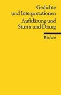 Bild von Richter, Karl (Hrsg.): Gedichte und Interpretationen / Aufklärung und Sturm und Drang