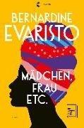 Bild von Evaristo, Bernardine : Mädchen, Frau etc. - Booker Prize 2019