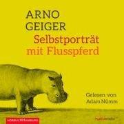 Bild von Selbstporträt mit Flusspferd