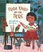 Bild von Frida Kahlo und ihre Tiere