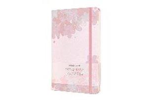 Bild von Moleskine Notizbuch - Sakura Large/A5, Blanko, Fester Stoffeinband, Rosa