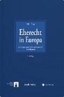 Bild von Süß, Rembert (Hrsg.) : Eherecht in Europa