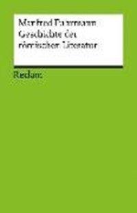Bild von Fuhrmann, Manfred: Geschichte der römischen Literatur